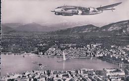 Avion Au-dessus De Genève (7046) - 1946-....: Moderne