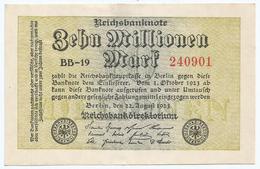 Alemania - Germany 10.000.000 Mark 1923 Pick 106.b Ref 62-2 - 10 Millionen Mark