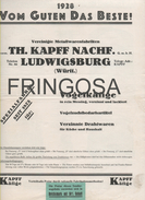 Price List: Th. Kapff Nachf 1928 - Catalogues