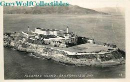 CA, Alcatraz Island,San Francisco, California, RPPC, Prison - Côte D'Or