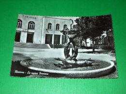 Cartolina Riccione - La Nuova Fontana 1958 - Rimini