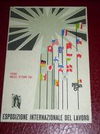 Cartolina Esposizione Internazionele Lavoro Torino 1961 - Postcards