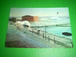 Cartolina Livorno - Anno '63: Mareggiata 1972 - Livorno