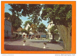 TECKLENBURG 1970 YEARS GERMANY ALLEMAGNE DEUTSCHLAND STREET SCENE POSTCARD - Steinfurt