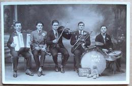 (CP NC) Carte Postale, Non Circulée, Dos Divisé > Musique : Orchestre René 'O Jazz - Musique Et Musiciens