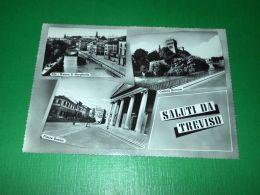 Cartolina Saluti Da Treviso - Vedute Diverse 1950 Ca. #1 - Treviso