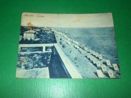 Cartolina Bellaria - Spiaggia 1951 - Rimini
