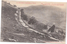 LUCHON  - 31 - Col De Peyresourde - Descente De La Route Vers Luchon  - ORL - - Luchon