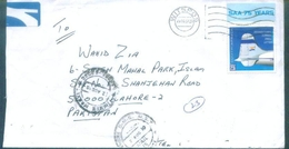 D226- Post From South Africa To Pakistan. Airplanes. Flag. - South Africa (1961-...)