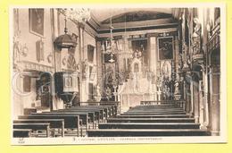 CPA 81 BRASSAC Couvent D´Oulias Chapelle Conventuelle TBE - Brassac
