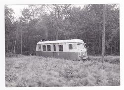77 PHOTO Train Wagon Autorail Billard Des CFD Vers Montereau VOIR DOS - Trains