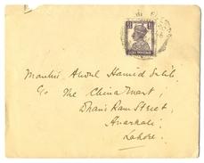 D279- British India King George VI Postal Used Cover. Post To Pakistan. - India