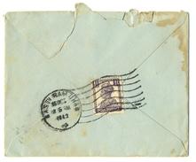 D282- British India King George VI Postal Used Cover. Post To Pakistan. - India