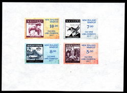 New Zealand Wine Post- Hand Made Paper. Old Wine Wine Labels Stamps. - Unclassified