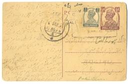 D296- British India King George VI Postal Used Cover. Post To Pakistan. - India