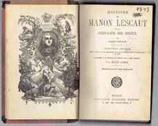 Manon Lescaut De L'Abbé Prévost Par Jules Janin (Illustrations De Tony Johannot) Collationné Sur L'édition De 1753 - 1801-1900