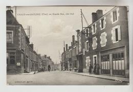 CPSM VAILLY SUR SAULDRE (Cher) - Grande Rue Côté Sud - France