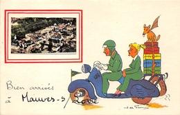 44-MAUVES-SUR-LOIRE- BIEN ARRIVES A MAUVES SUR LOIRE - Mauves-sur-Loire