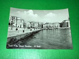 Cartolina Trani - Via Statuti Marittimi - Il Porto 1960 Ca - Bari