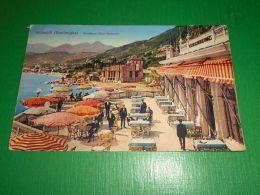 Cartolina Grimaldi ( Ventimiglia ) - Frontiera Italo-francese 1926 - Imperia