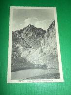 Cartolina Carnia - Lago Di Promosio E Pizzo Avostanis 1935 Ca - Udine
