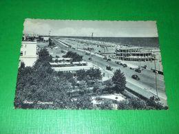 Cartolina Rimini - Lungomare -- 1956 - Rimini