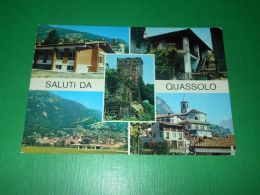Cartolina Saluti Da Quassolo - Vedute Diverse 2005 - Unclassified
