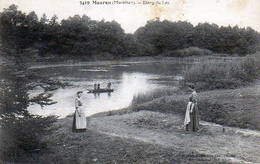Mauron. Etang Du Lou. (Animée). - Other Municipalities