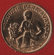 CABO VERDE 2,5 ESCUDOS 1977 FAO PRODUZIR PARA AVANÇAR KM# 18 - Cap Vert