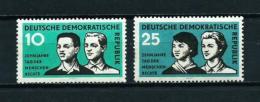 Alemania Oriental (DDR)  Nº Yvert  384/5  En Nuevo - [6] República Democrática