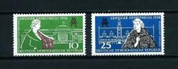 Alemania Oriental (DDR)  Nº Yvert  373/4  En Nuevo - [6] República Democrática