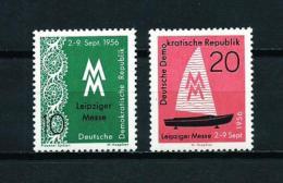 Alemania Oriental (DDR)  Nº Yvert  261/2  En Nuevo - [6] República Democrática