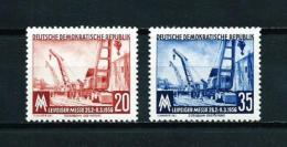 Alemania Oriental (DDR)  Nº Yvert  239/40  En Nuevo - [6] República Democrática