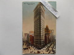 New York, Flat Iron Building, Traffic, 1913 - Manhattan
