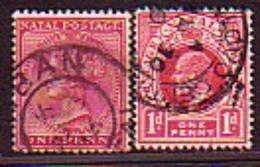 Great Britain - British Guiana - 1891 , 1913 - Bateau, King Eduerd Vll - 2v Obl - British Guiana (...-1966)