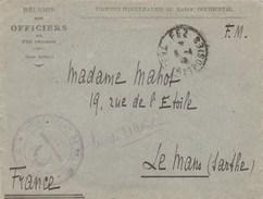 Maroc - LAC - Fez - 1er Régiment De Spahis - Troupes D'occupation Du Maroc Occidental 1916 - Franchise Militaire - Marokko (1891-1956)