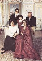 Fotokarte Monaco Fürstenfamilie - Fürstenpalast
