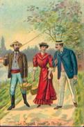 « Le Départ Pour La Pêche » (1907) - Cartes Postales