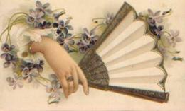 Carte à Système (1910) - Emplacement Discret Pour Un Message Sous L'éventail - Cartes Postales