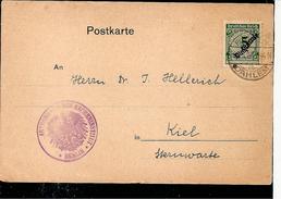 Deutsches Reich.DIENST Mi.100.astronomisches Institut Berlin-Dahlem - Astronomy