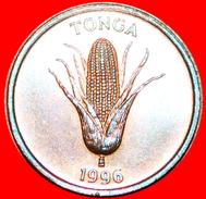 § GREAT BRITAIN: TONGA ★ 1 SENITI 1996! LOW START★ NO RESERVE! Tupou IV (1965-2006) - Tonga