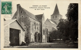 50 - CERISY La FORÊT -- L'ancienne Chapelle Romaine - France