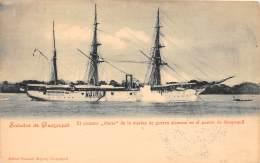 """EQUATEUR - Guayaquil / El Crucero """" Marie """" De La Marina Guerra Alemana - Equateur"""