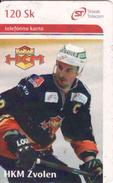 Slovakia, Chip Phonecard, 4/2004, Tirage 50 000, Hockey - Slovaquie