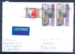 D311- Postal Used Cover Post From Germany To Pakistan. - Germany