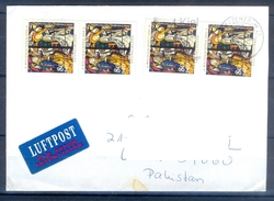 D312- Postal Used Cover Post From Germany To Pakistan. - Germany