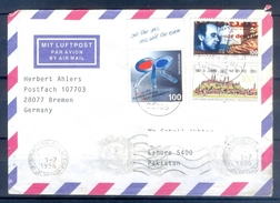 D317- Postal Used Cover Post From Germany To Pakistan. - Germany