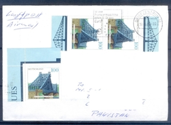 D319- Postal Used Cover Post From Germany To Pakistan. - Germany