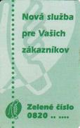 Slovakia, Chip Phonecard, - Slovaquie