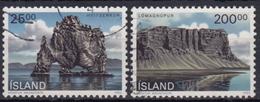 ISLANDIA 1990 Nº 684/85 USADO - Gebraucht